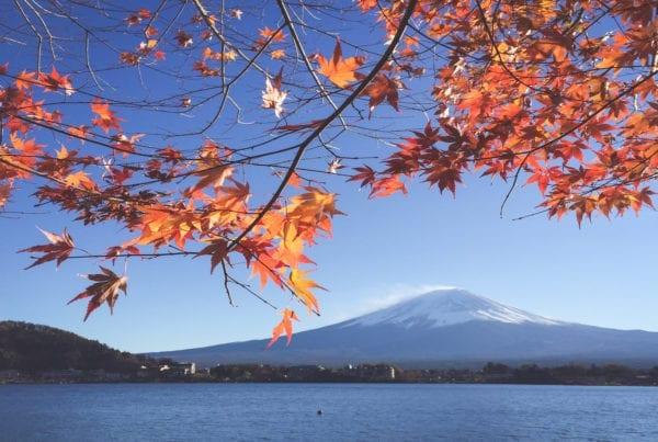 Mountain Japan Fuji
